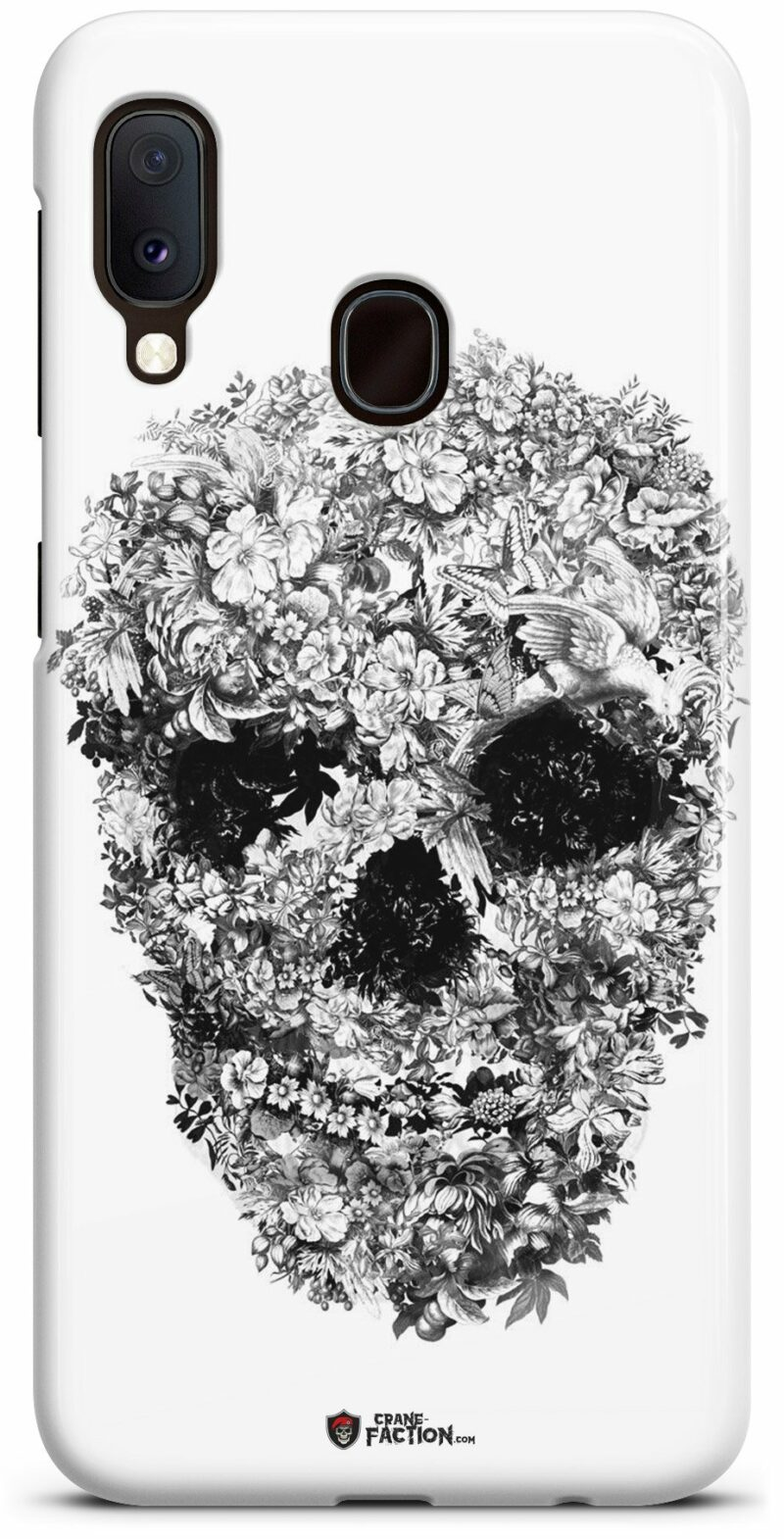 Black and White Skull Case