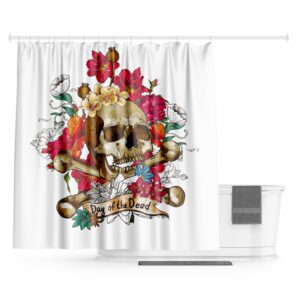 Day of the Dead Curtain