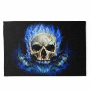 Fire Skull Rug