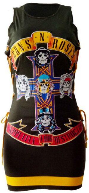 Guns N' Rose Dress