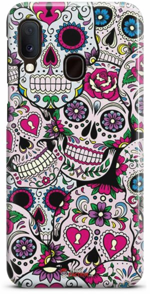 Colorful Mexican Skull Hull