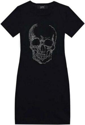 Strass Skull Dress
