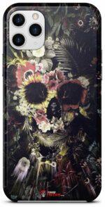 Flowery Skull Shell