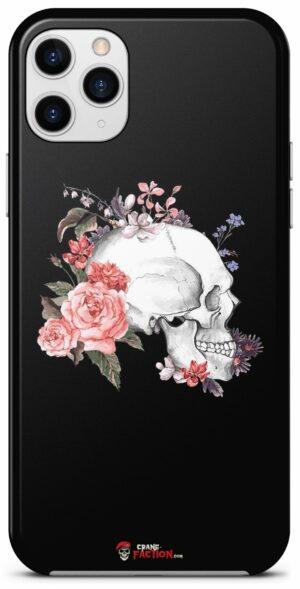 Skull Flower Case