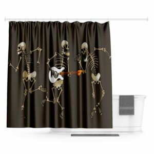 Mexican Party Shower Curtain