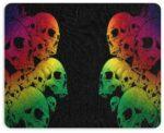 Skull Mouse Pad Design