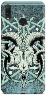 Shell Goat Skull