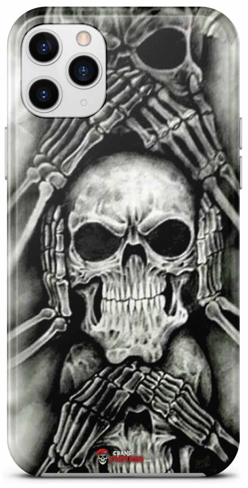 Black and White Skull Hull