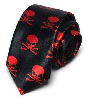Cursed Skull Tie