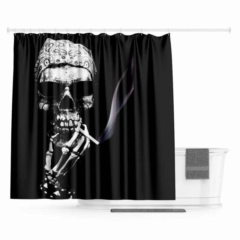 Skull Curtain