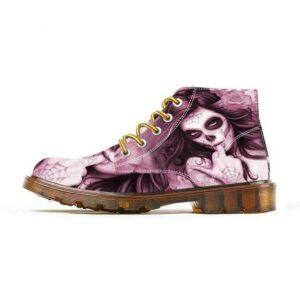 Shoes Santa Muerte