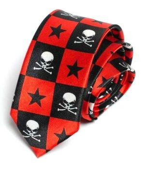 Star Skull Tie