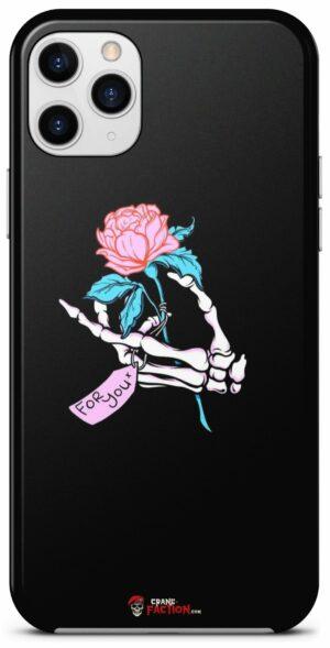 Skeleton Flower Case