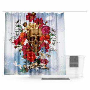 Skull and Crossbones Curtain