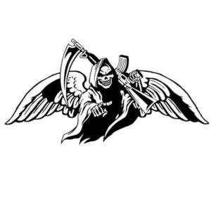 Sticker Demon reaper