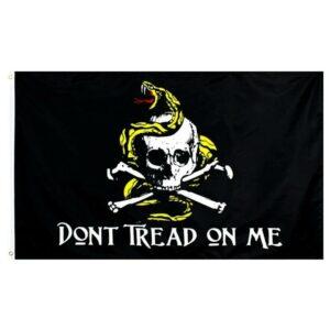 Death's Head Snake Flag