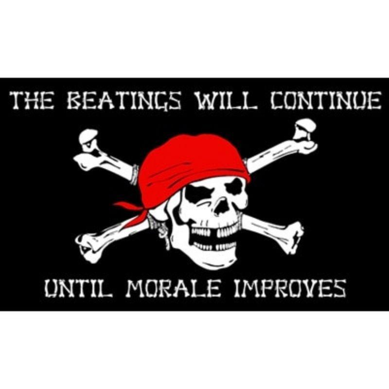 Pirate Teriffiant flag