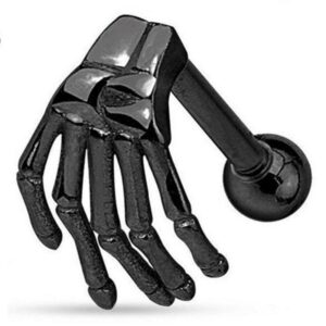 Skeleton Hand Piercing