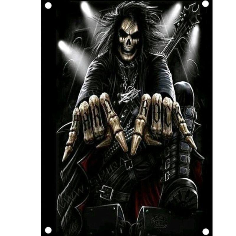 Skeleton of Death Flag