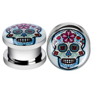 Mexican Skull Piercing Day of the Dead