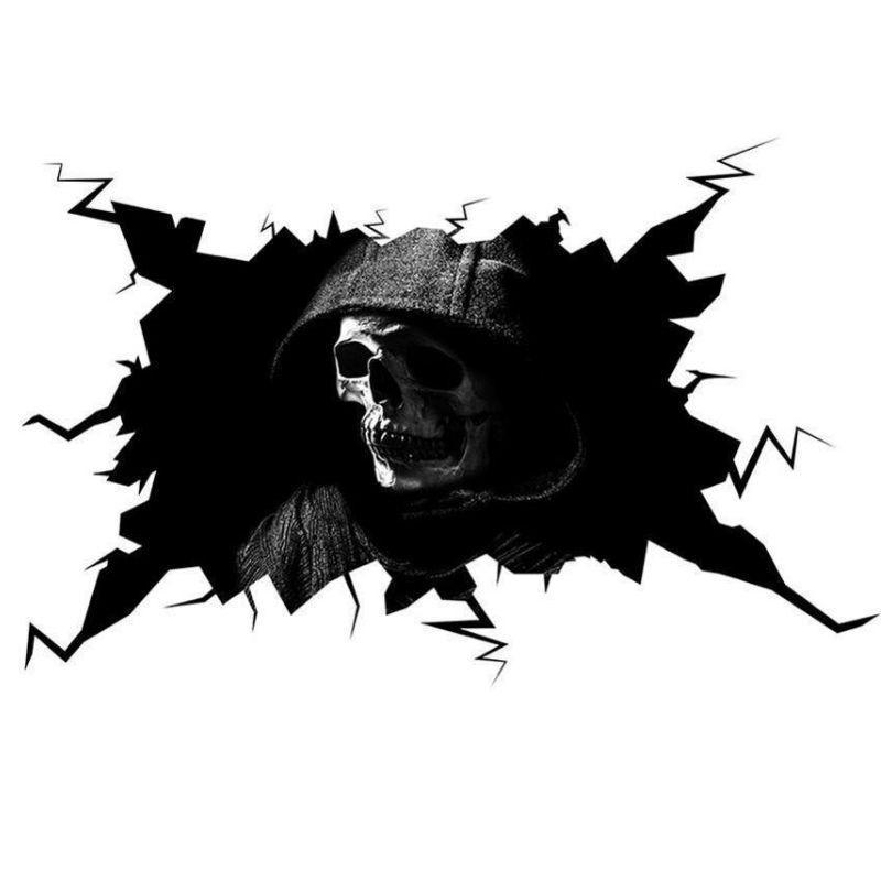 Black Reaper Sticker
