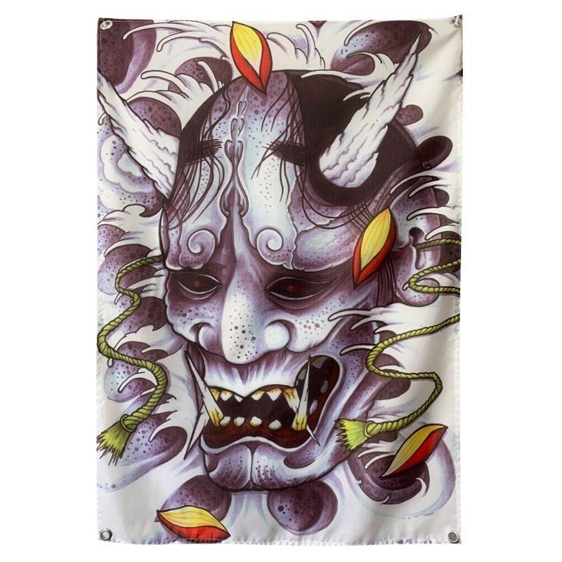Demon Skull flag