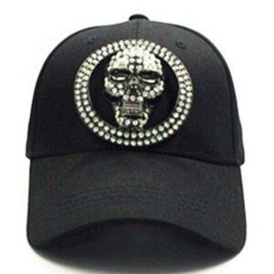 Diamond skull cap