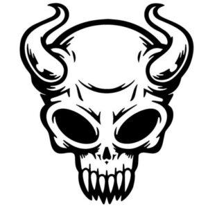 Devil Car Sticker