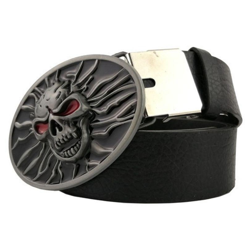 Demon skull belt