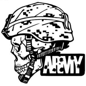 Army Sticker