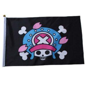 Cartoon Skull flag