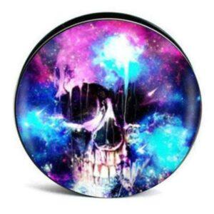 Abstract Art Skull Piercing