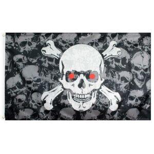 Cursed Skull Flag