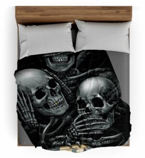 Cursed Skull Plaid