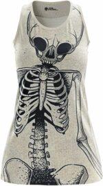 Black and White Skeleton Dress