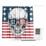 Skull Curtain USA