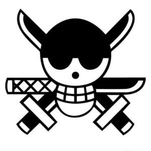 Animated Skull Sticker