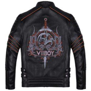 skull blazer jacket man