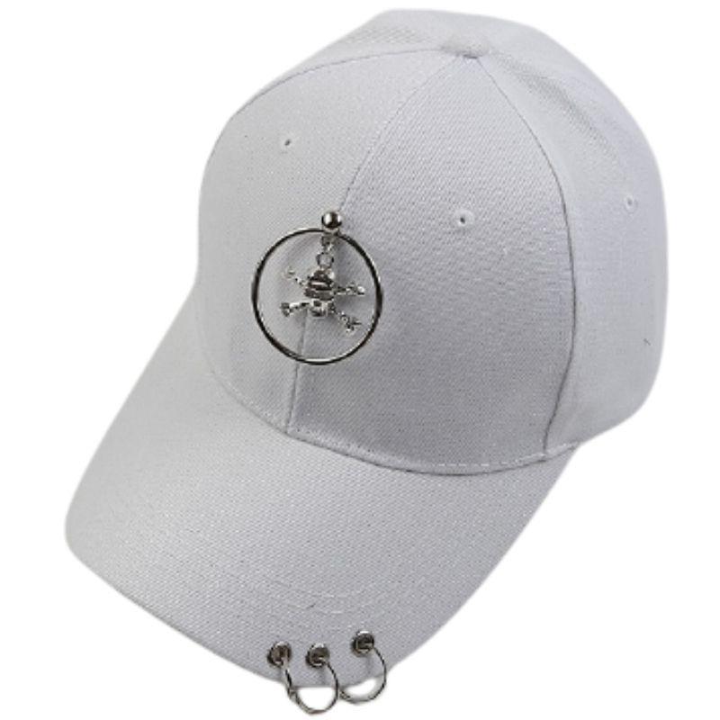 Women's punk skull cap