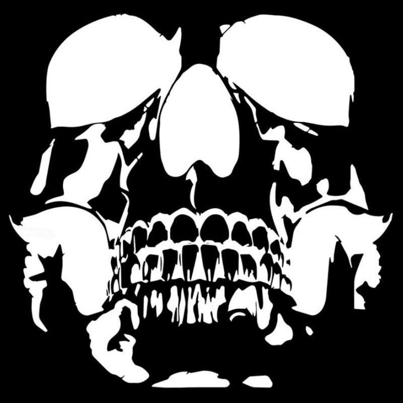 cheap skull stickers