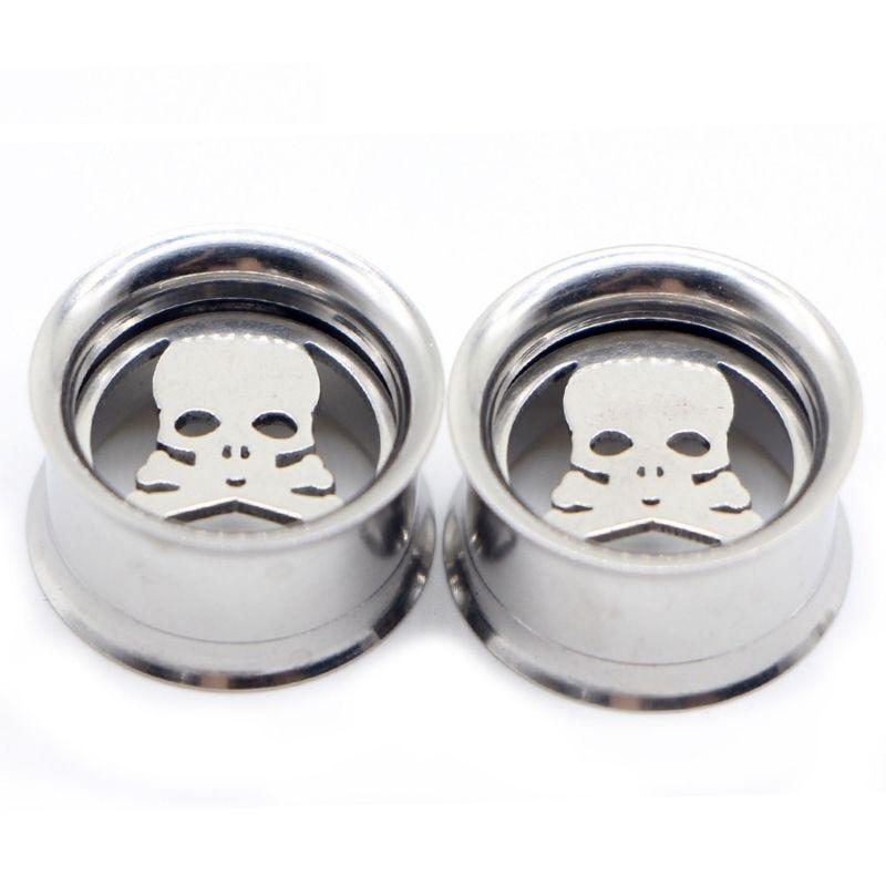 Piercing silver ear spreader