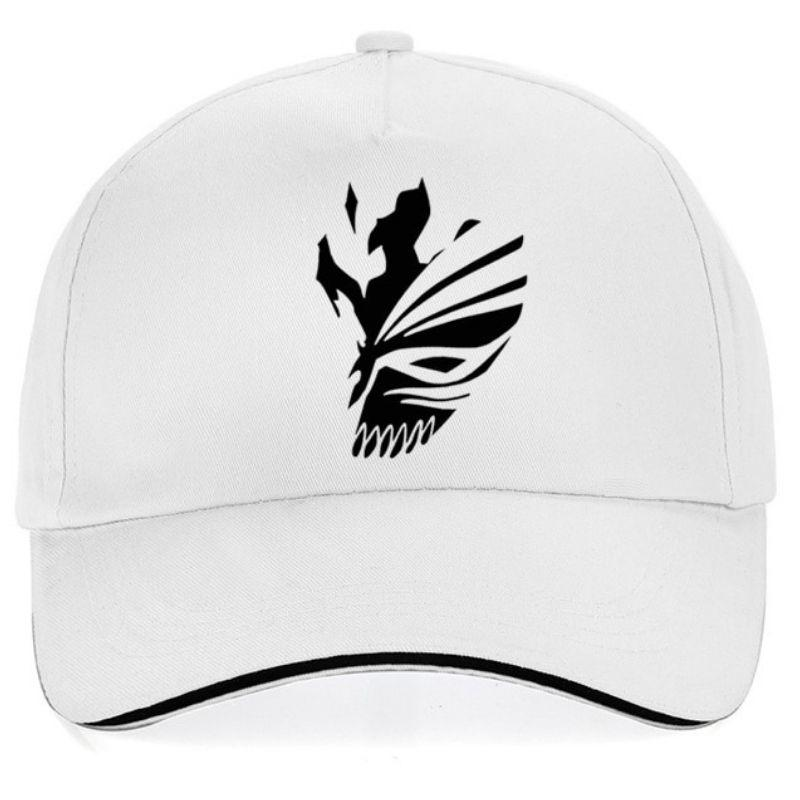 Black and white skull cap for woman