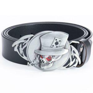 Skull Belt With Hat