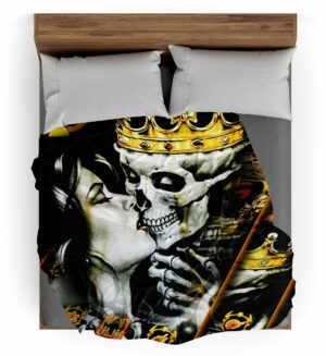 Crown Skull Throw