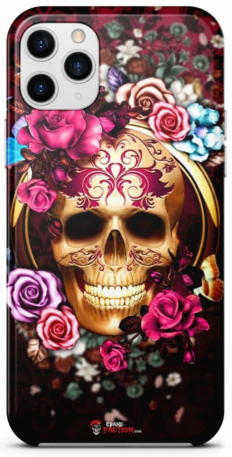 Multicolor Skull Shell