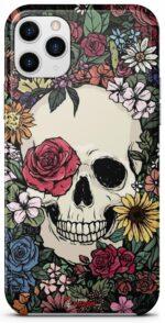 Skull Flowers Hull Case