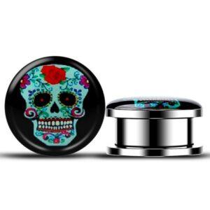 Mexican Skull and Crossbones Piercing