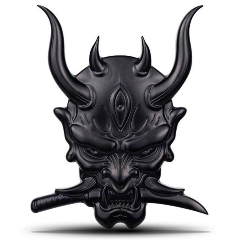 Sticker Devil black
