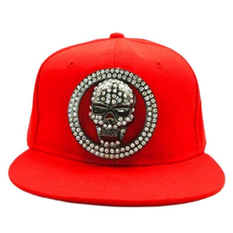 3D skull cap for hip hop