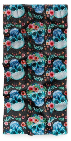 Skull and Crossbones Beach Towel